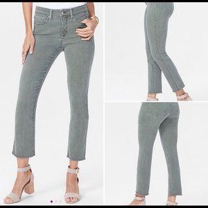 NYDJ Topiary Sheri Fray-Hem Skinny Jeans